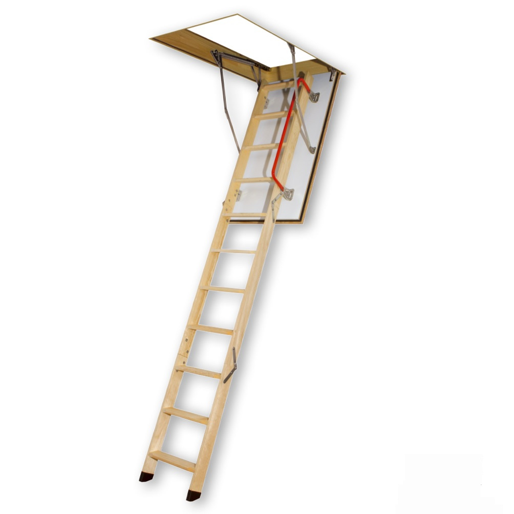 Fire rated attic ladder
