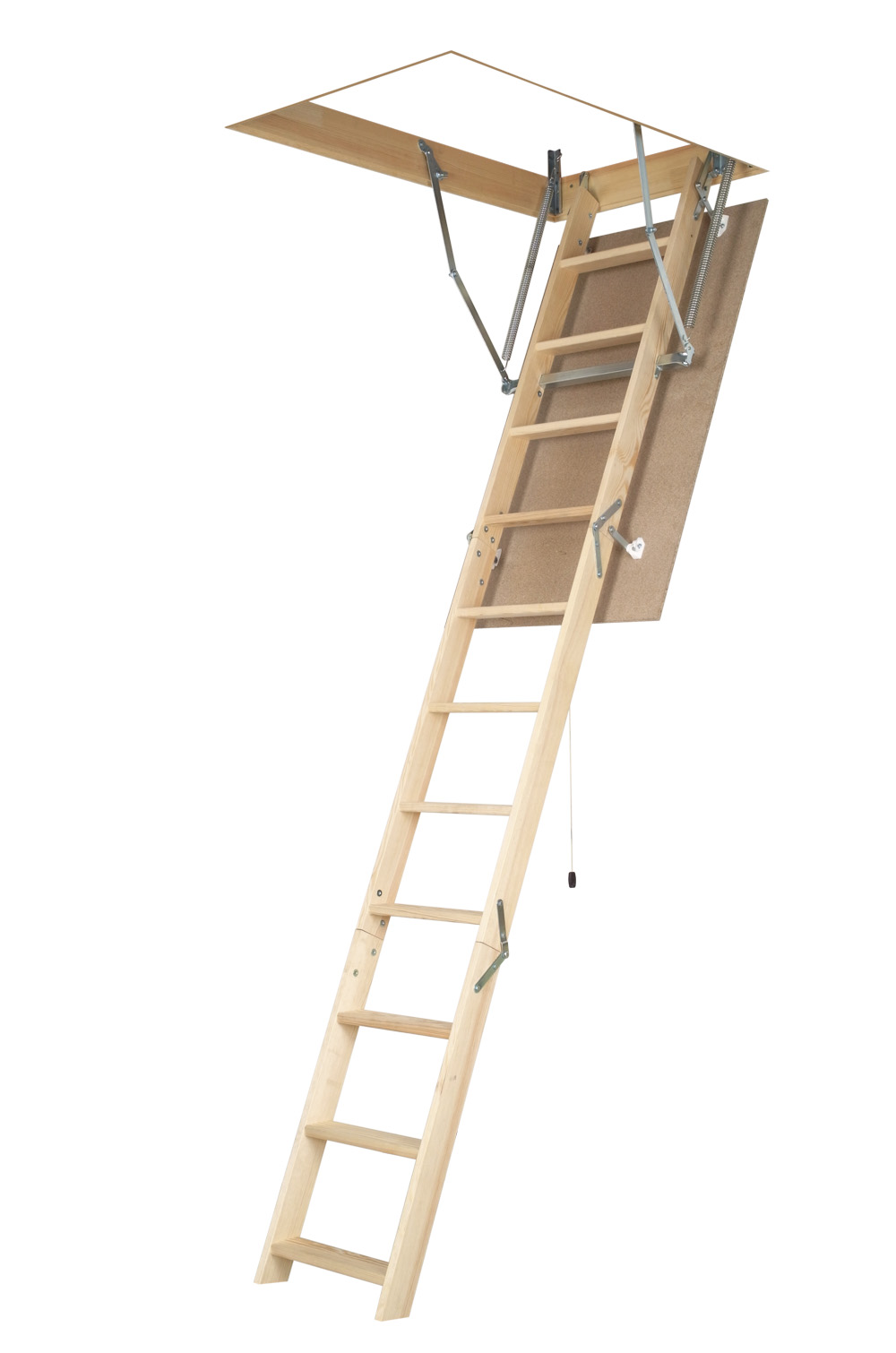 DIY BASIC WOODEN ATTIC LADDER