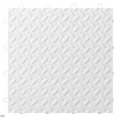 White Tile Flooring (24-pack)