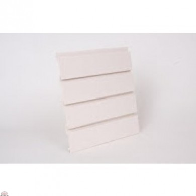 "Slat Wall 96"" W X 3/4"" D X 12"" H Section, Antique White"