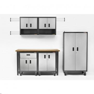 Adjustable Height 6 ft.Maple Workbench
