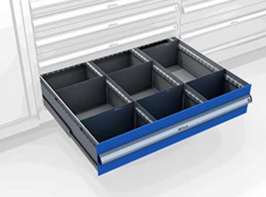 Premounted superwide cabinet with drawers ME-6105