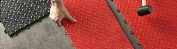 Black Tile Flooring (24-pack)