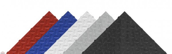 Silver Drain Tile (4-Pack)