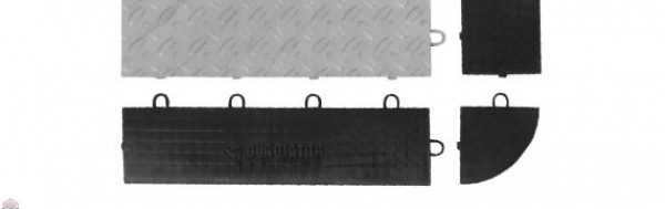 Charcoal Drain Tile (4-Pack)