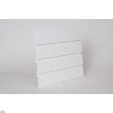 """Slat Wall 96"""" W X 3/4"""" D X 12"""" H Section, White"""
