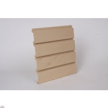 "Slat Wall 96"" W X 3/4"" D X 12"" H Section, Maple"
