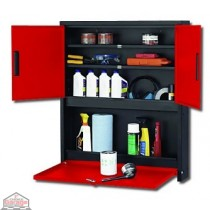 3 Door Service Cabinet (Performance Red)