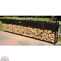 1 Cord Woodhaven Firewood Rack 4ft x 16ft with Cover