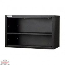 One Shelf Wall Unit Black