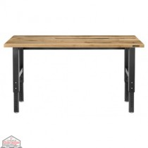 Adjustable Height 6 ft.Maple Workbench
