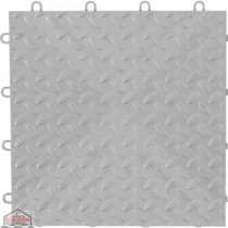 Silver Tile Flooring (48-Pack)