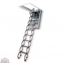 LSF Scissors Attic Ladders - Fireproof Door