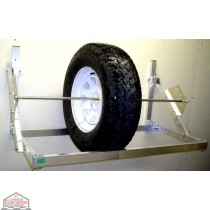 4 Ft Aluminum Tire Rack