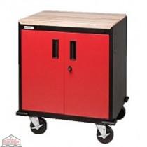 2 Door Modular Base Cabinet (Performance Red)