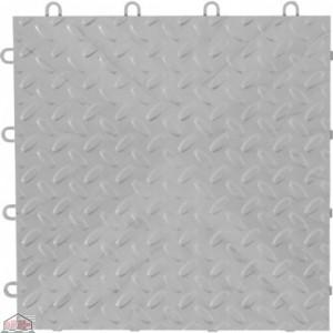 Silver Tile Flooring (4-Pack)