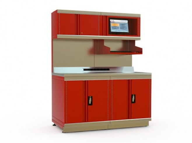 METALIA PREFABRICATED WORKSTATIONS