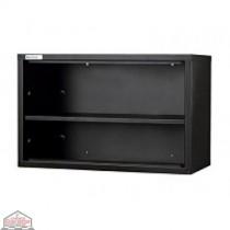 One Shelf Wall Unit Black