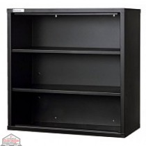 Two Shelf Wall Unit Black
